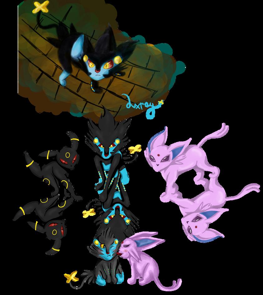 Image Result For Luxray Chibi Pokemon
