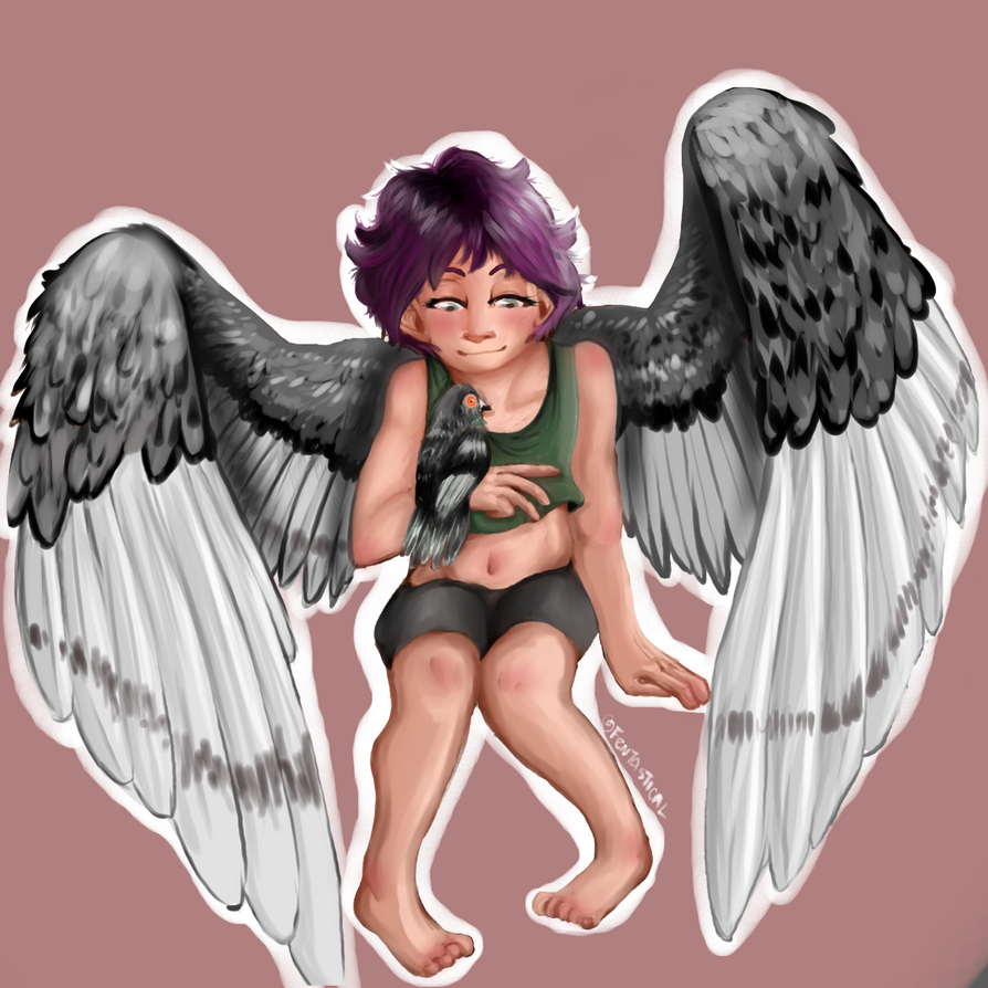 Pigeon Girl by BookJustice