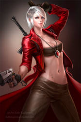 Female Dante by LidTheSquid
