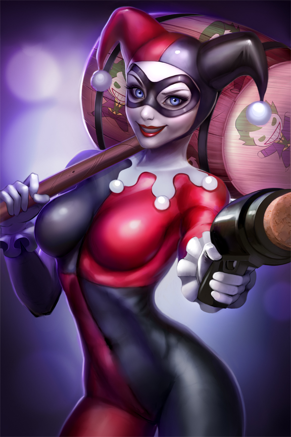 Harley Quinn  by LidTheSquid