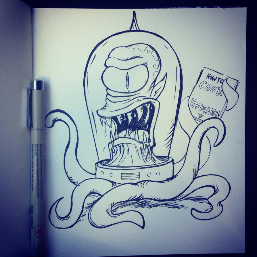 Kodos/Kang The simpsons by LidTheSquid