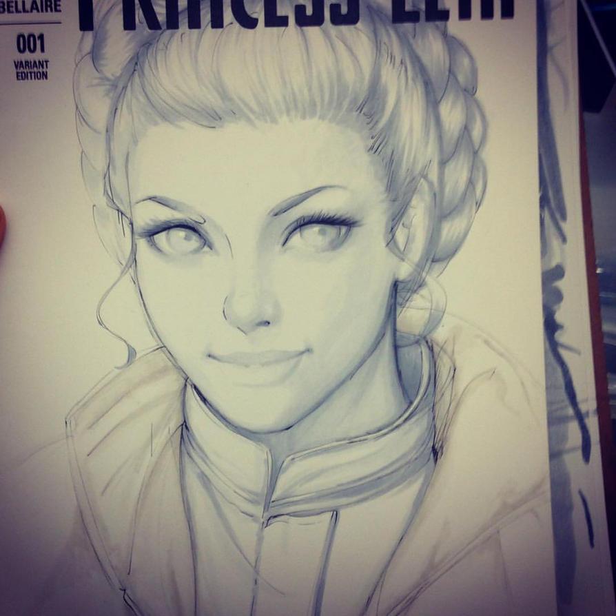 princess leia by LidTheSquid