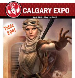 Calgary expo promo! by LidTheSquid
