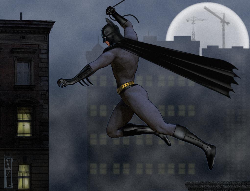 Batman by Chris Pendergraft by ChrisPendergraft