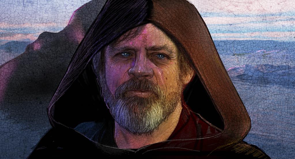 Star Wars : the Force Awakens - Luke Skywalker by ChrisPendergraft