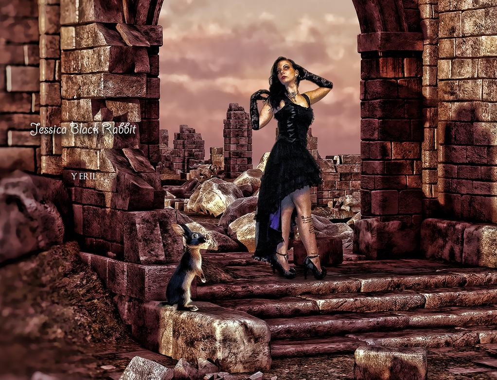 Jessica Black Rabbit by yeril