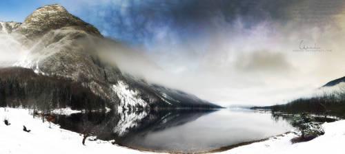 Winterlake by SasoSi
