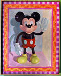 Rubber Mickey Toy