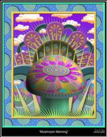 Mushroom Morning by EricTonArts