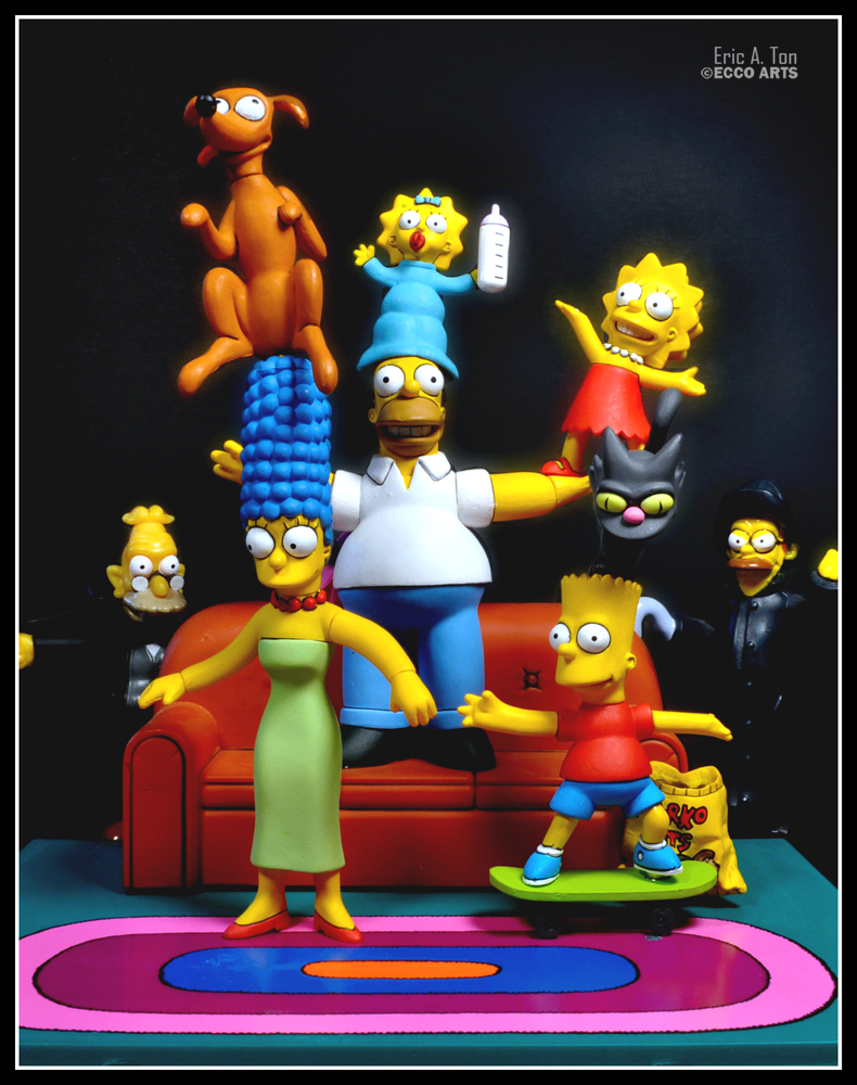 Simpsons Have Fun by eccoarts