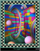 The Juggler's Dream by EricTonArts