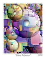 Cubic Spherium by EricTonArts