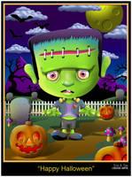 Happy Halloween by EricTonArts
