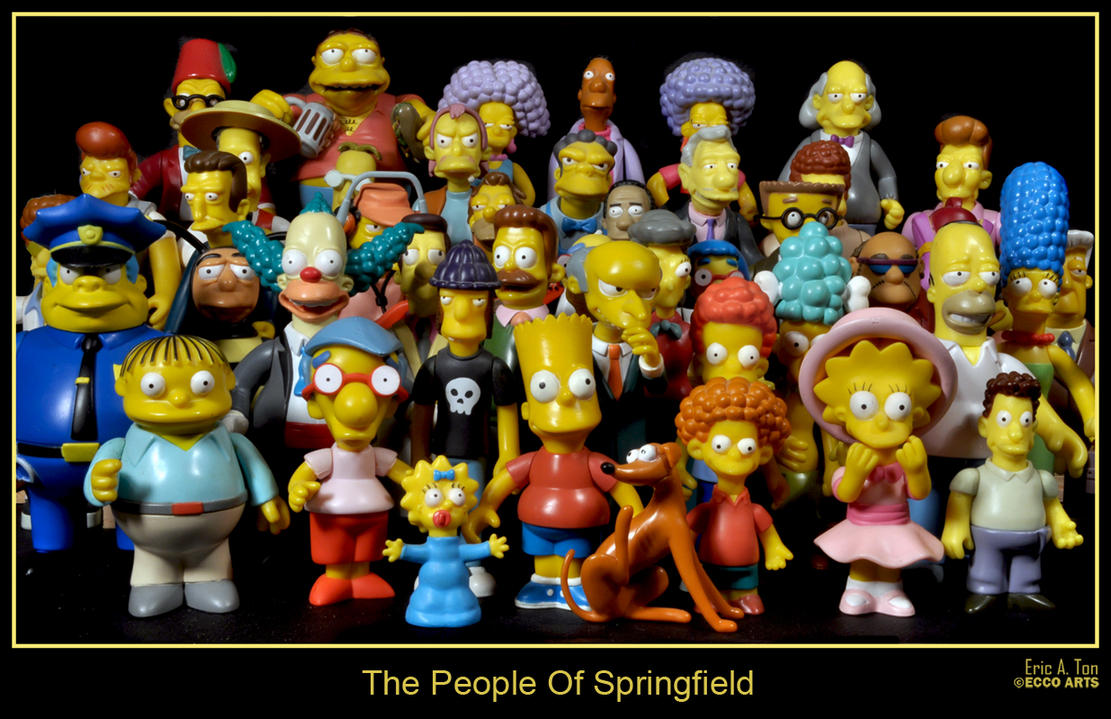 The People Of Springfield by Eccoton