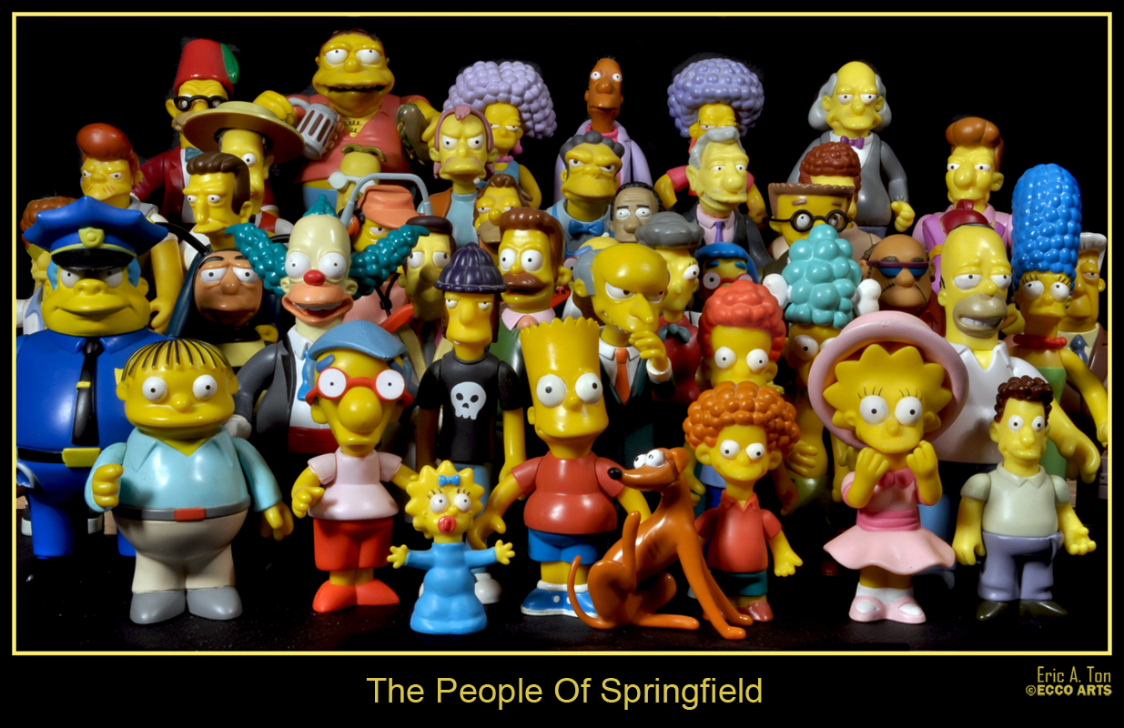 The People Of Springfield by eccoarts
