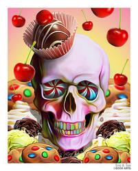 Sweet Skull by EricTonArts