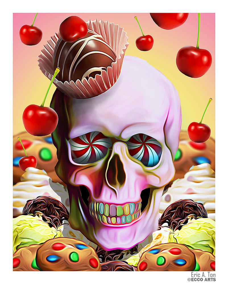Sweet Skull by Eccoton