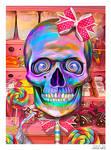 Lollipop Skull by EricTonArts