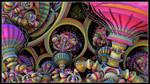 Bulbophyllum Psychedellius