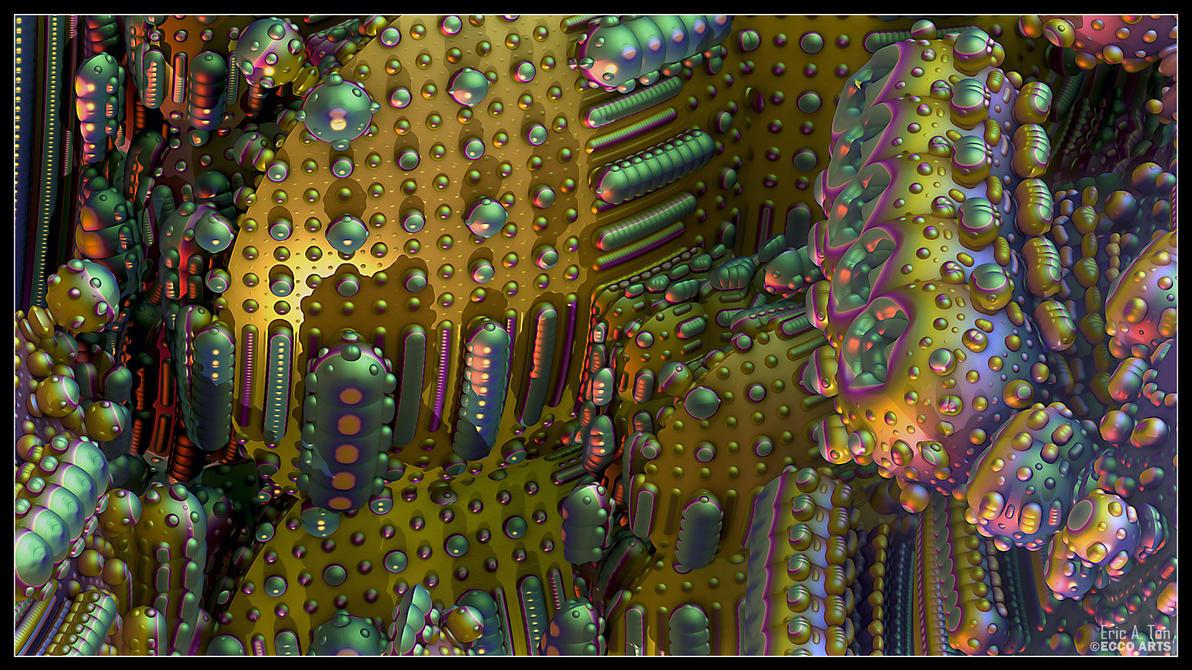 Bacterium Metallicum by eccoarts