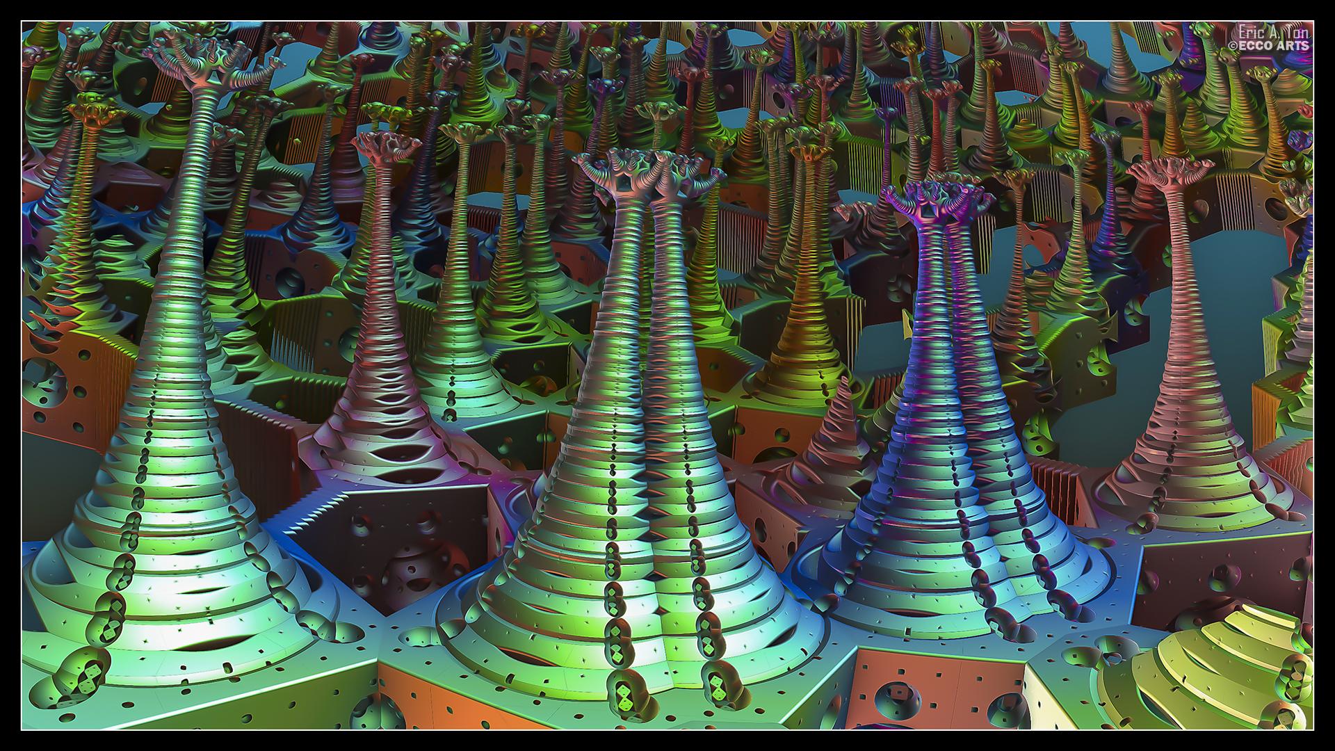 Arborium Metallicum by eccoarts