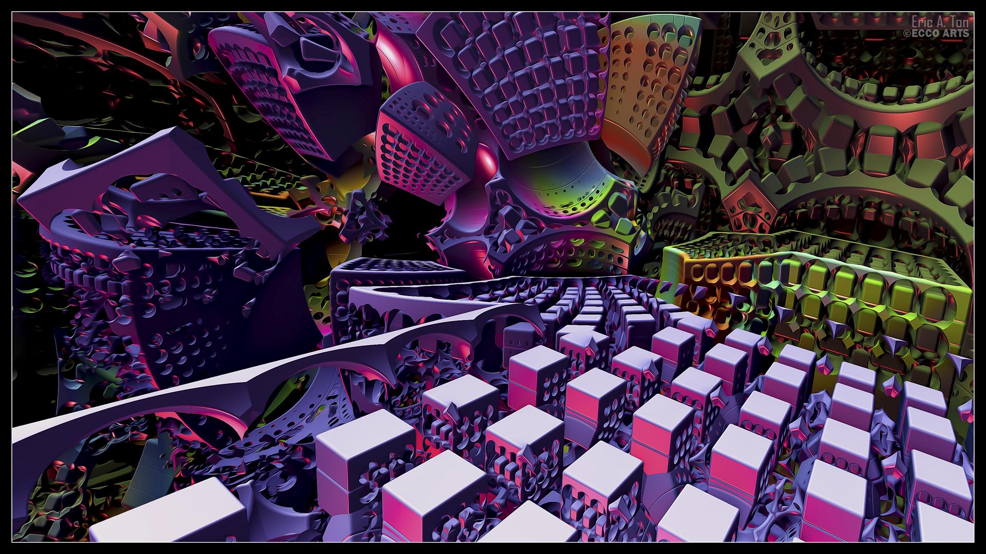 Cubicium by eccoarts