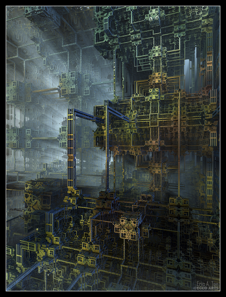 Mega Construct VIII by eccoarts