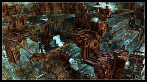 Mega Construct IX by EricTonArts