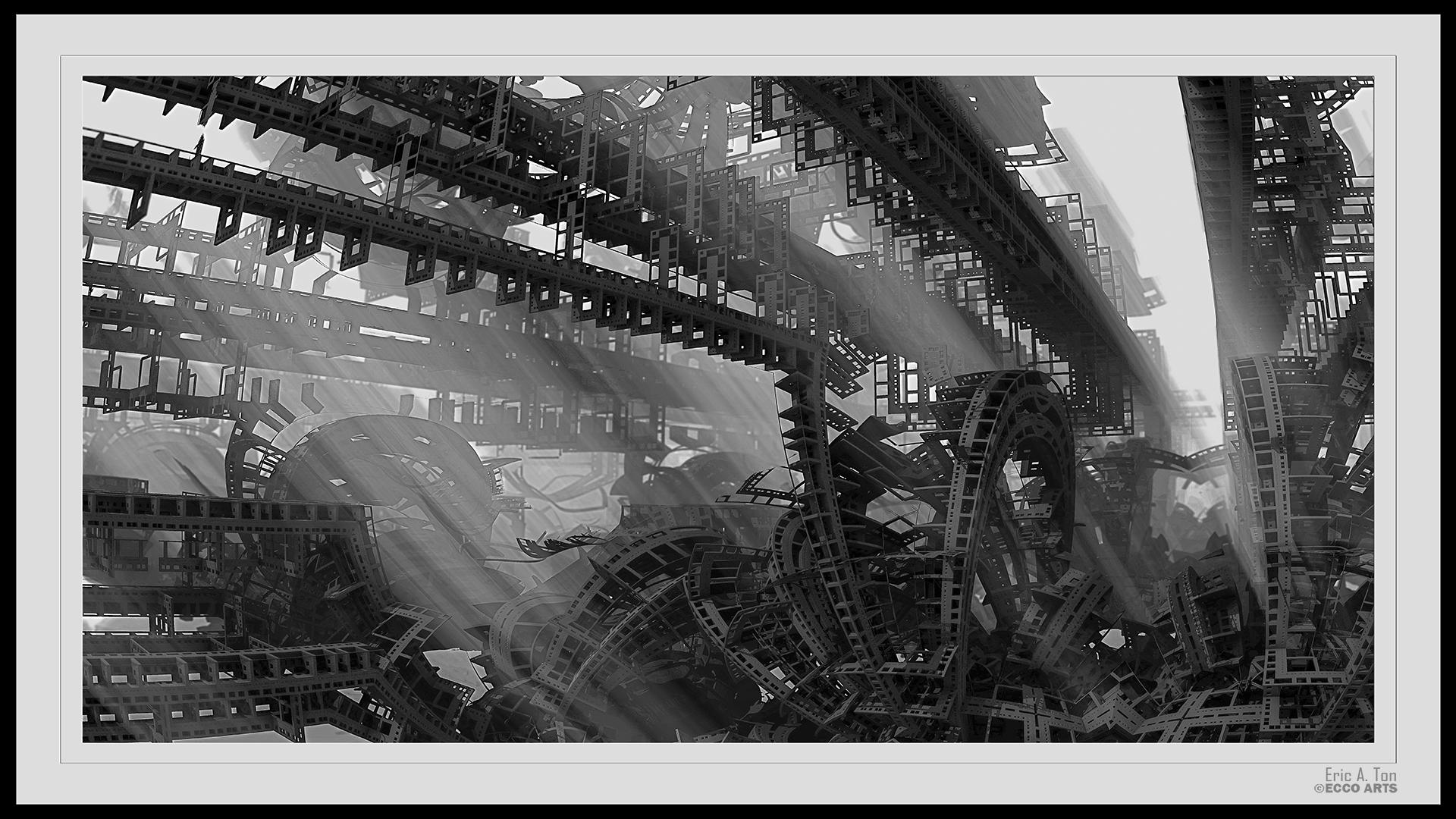 Mega Construct VI BW by Eccoton