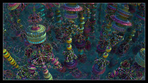 Psychedelic Towers
