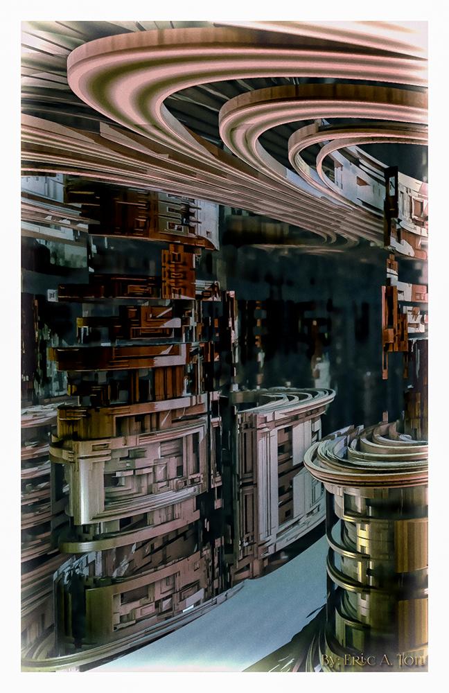 Processor Alley by eccoarts