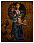 Keyhole Alice by EricTonArts