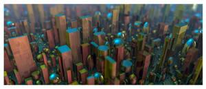 Geometric Abstract II by EricTonArts