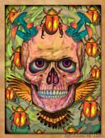 Scarab Skull