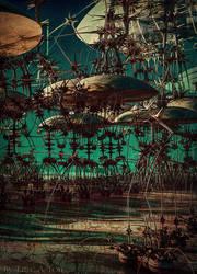 Spider Striders by EricTonArts
