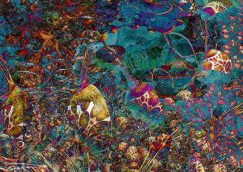 The Octopus's Garden by EricTonArts