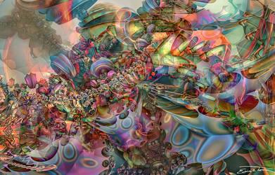 Chromatic Disturbance by EricTonArts