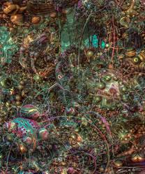 Creeping Thicket by EricTonArts