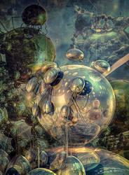 Organic Neural Network by EricTonArts