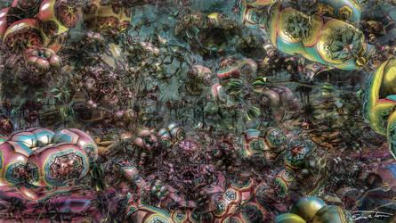 Trek Into The Mind's Jungle by EricTonArts