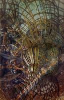 Kinetic Spherical Construct II by EricTonArts
