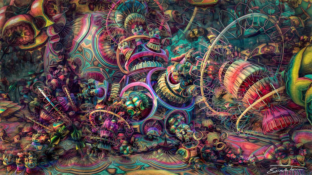 Fidgety Reef by EricTonArts