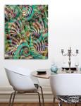 Swirling Frenzy (print) by EricTonArts