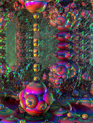 Psychedelic DNA by EricTonArts