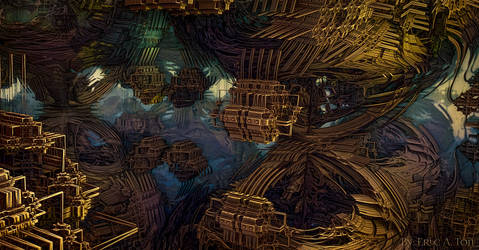 Abstract Construct VIII by EricTonArts