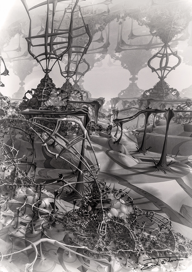 Harvesting Network I by EricTonArts