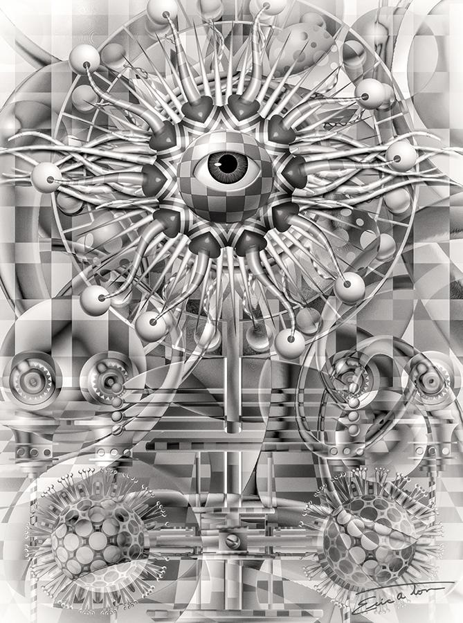 Ecco's Eye by EricTonArts