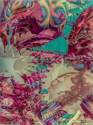 Beneath The Surreal Coating by EricTonArts