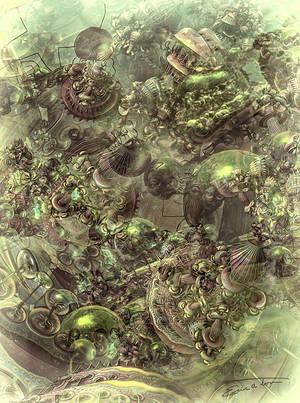 Phytoplankton by EricTonArts
