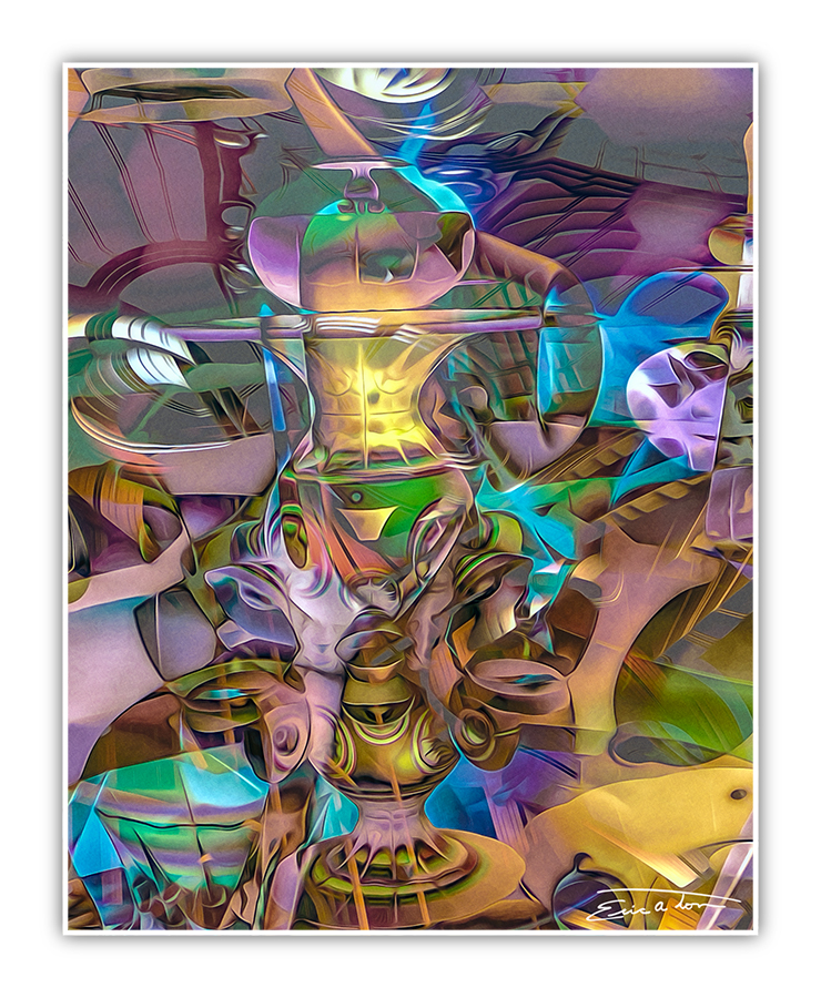 Surreal Cubism by EricTonArts